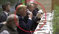 Песков рассказал, что Путин пил из своей кружки на ужине лидеров G20