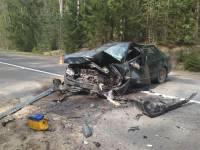 Под Ульяновском трое полицейских стали жертвами ДТП