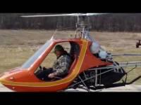 В Канаде потерпел крушение самодельный вертолет