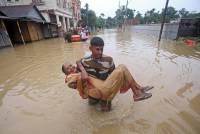 В Индии жертвами наводнения стали 19 человек, пострадали 4,5 млн