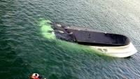 Названа причина опрокидывания катамарана в Черном море