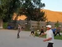 В Киргизии в ходе столкновений пострадали около 140 человек