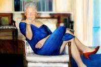 В доме Эпштейна найден портрет Клинтона в женском платье