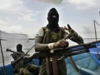 Пираты похитили восемь моряков с судна, захваченного у берегов Камеруна