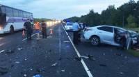 В аварии на трассе «Волгоград-Москва» погибли пять человек