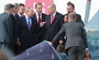 Путин и Эрдоган осмотрели новейший истребитель Су-57