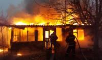 Под Калугой двое мужчин стали жертвами пожара