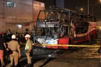 В Турции пять человек погибли в загоревшемся автобусе