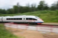 Движение поездов «Сапсан» остановили на час из-за гибели зацепера