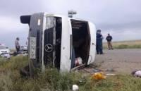 В Рязанской области семь человек погибли в ДТП с микроавтобусом