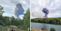 В Минобороны назвали предварительную причину пожара на складе боеприпасов под Ачинском