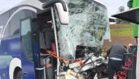 В Долгопрудном неуправляемый автобус врезался в остановку: погибли два человека