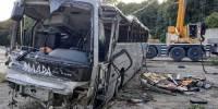 Полиция задержала водителя автобуса, попавшего в ДТП под Новороссийском