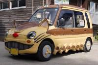 Фанат фильма «Мой сосед Тоторо» переделал свою машину в «котобус»