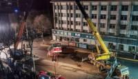 В Китае не менее 9 человек погибли при падении автобуса в яму