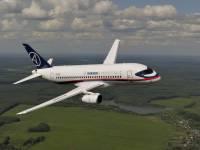 В Домодедово на недостроенную полосу приземлился самолет SSJ 100