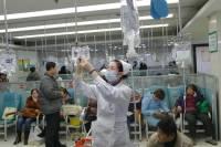 В Китае растет число зараженных новым коронавирусом