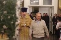 Путин передал икону Спасо-Преображенскому собору