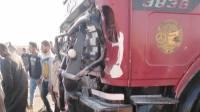 Под Воронежем столкнулись автобус и грузовик, погиб один человек