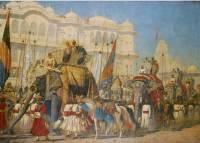 В Калькутте после реставрации представлено самое большое полотно Верещагина