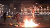 Задержанного в образе Христа у здания ФСБ акциониста могут арестовать на 30 суток