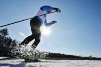 Россияне заняли весь пьедестал лыжной гонки на 15 км на этапе КМ в Давосе