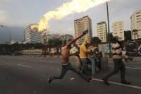 В столице Колумбии для разгона студентов применили водометы и слезоточивый газ