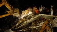 В Китае обрушилось здание отеля: под завалами десятки человек