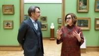 Директор Третьяковки проведет онлайн-экскурсию по музею вместе с Сергеем Шнуровым