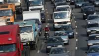 На въездах в Москву из-за проверки пропусков образовались пробки