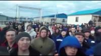 В Якутии вахтовики вышли митинг из-за ситуации с коронавирусом