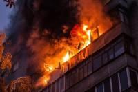 СМИ: При пожаре на северо-востоке Москвы пострадали 7 человек