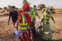 В Нигерии 18 человек погибли при опрокидывании автобуса