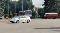 В Луцке вооруженный мужчина взял в заложники пассажиров автобуса