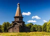 Под Новгородом разобрали и заново собрали деревянную церковь XVI века
