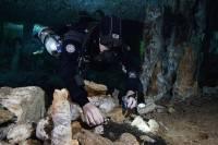 В затопленных пещерах Мексики нашли 12000-летние рудники
