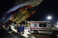 В Бейруте совершил посадку третий самолет МЧС России