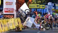 Участник «Тура Польши» впал в кому после страшной аварии на финише
