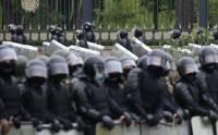 В Бресте силовики применили слезоточивый газ для разгона протестующих