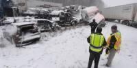 В Испании из снежного плена вызволили 1,5 тыс. водителей