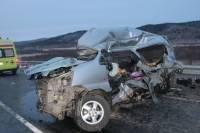 В Башкирии в ДТП погибли женщина и двое детей