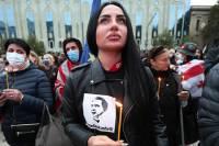 Сторонники Саакашвили собрали многотысячный митинг в Тбилиси