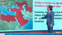В Турции госканал показал карту расширения влияния Анкары на Крым и Кубань