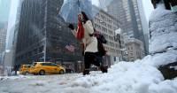В США более 20 человек стали жертвами снега и морозов