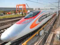 В Китае впервые устроили столкновение двух скоростных поездов