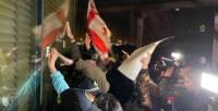 В Тбилиси после приезда Познера начались столкновения протестующих с полицией