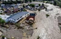 Более 1 тыс. человек пропали после наводнения в ФРГ