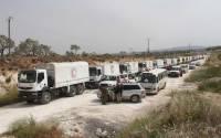 В Эфиопии пропали более ста грузовиков с гуманитарным грузом ООН
